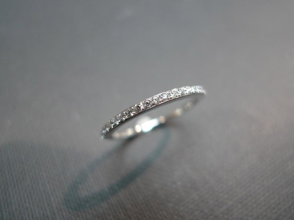 Classic Wedding Diamond Ring in 18K White Gold