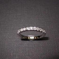 Wedding Diamond Ring in 14K White Gold