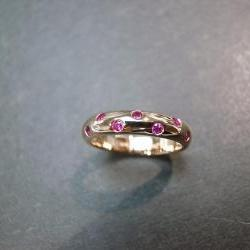 Ruby Ring in 14K Rose Gold