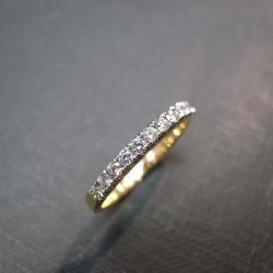 Anniversary Diamond Ring in 14K Yellow Gold